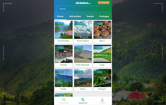 KP Tourism App Web Portal by KP Government Launches To Promote Tourism Image 2