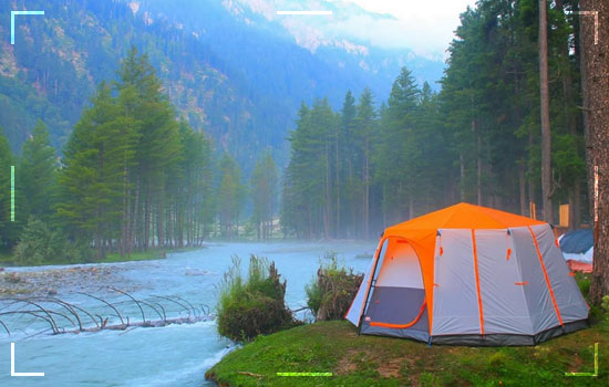Ideal site for Camping
