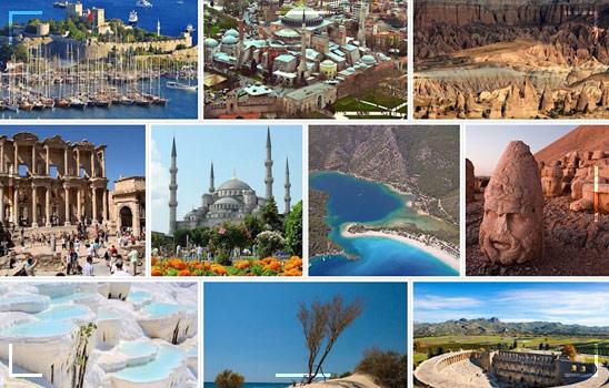 Tourist Points In Turkey