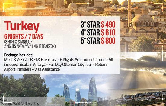 Turkey Travel Package
