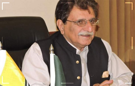 AJK Prime Minister Raja Farooq Haider