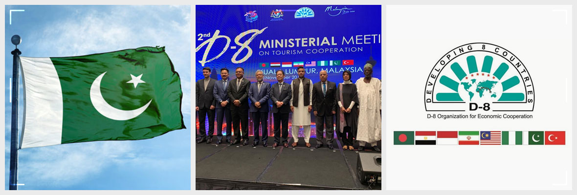 Pakistan Will Host The Meeting Of D 8 Tourism Summit Banner