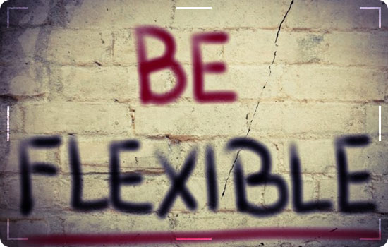 Be flexible 1