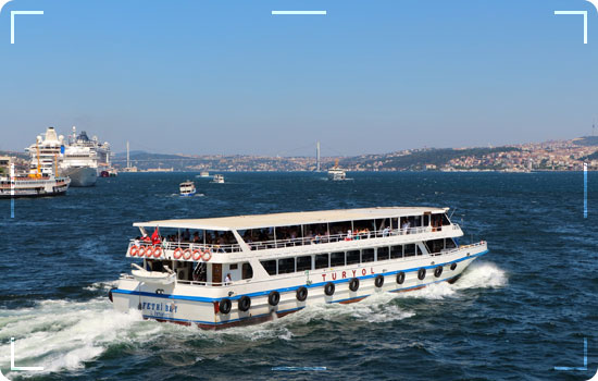 Istanbul Ferry Boats