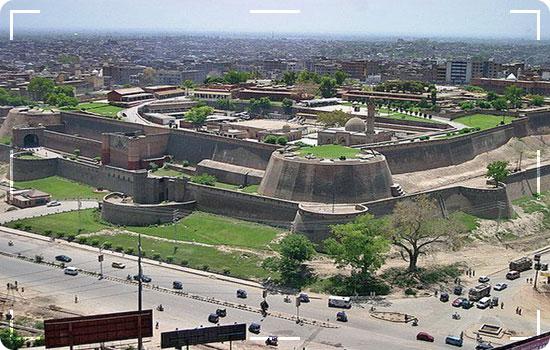 Fort in Peshawar Bala Hisar