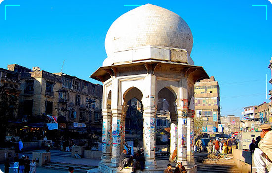 Yadgaar Chowk Peshawar