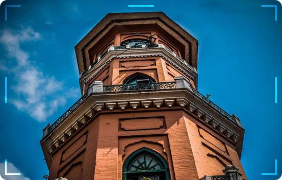 Cunningham Clock Tower in Peshawar