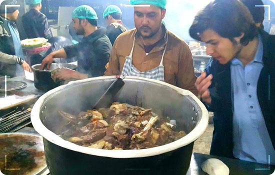 Oldest Dumphukt Resturant in Peshawar