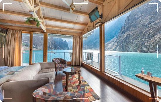 Luxus Hunza Attabad Lake Resort