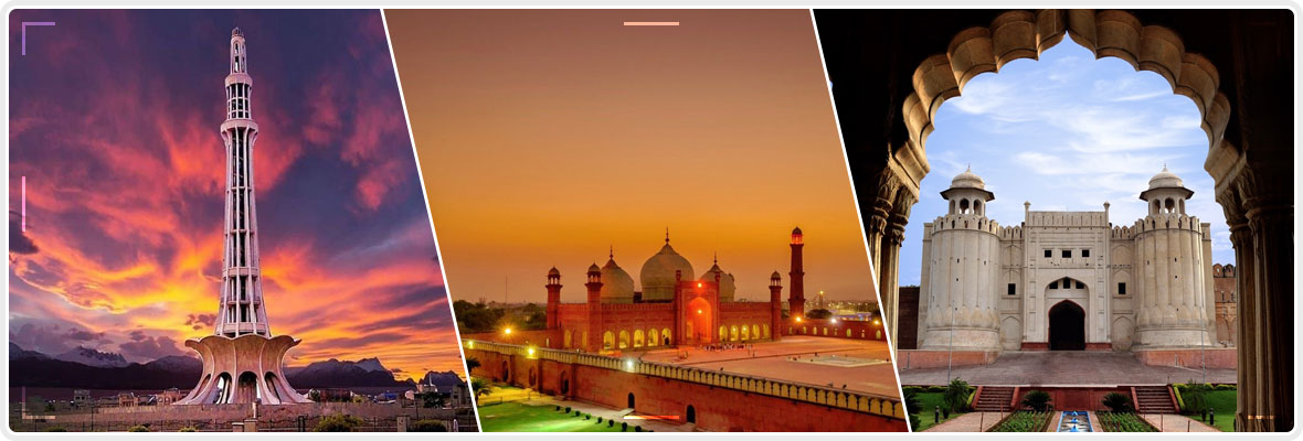 Famous 50 places of Lahore