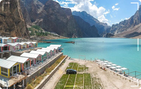 Luxus Attabad Lake Hunza