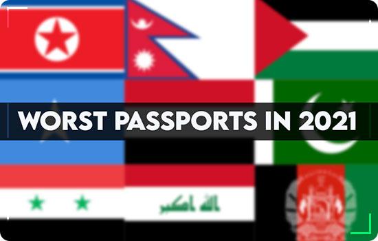 Worst passport kept