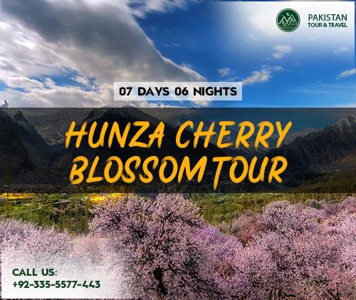 Hunza tours 2021 i Cherry Blossom Season