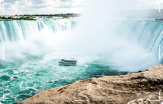 Niagara Falls is composed of 3 separate waterfalls