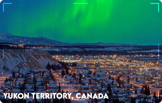 Northern Lights in Yukon