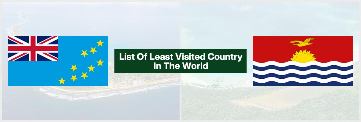 List Of Least Visited Country In The World