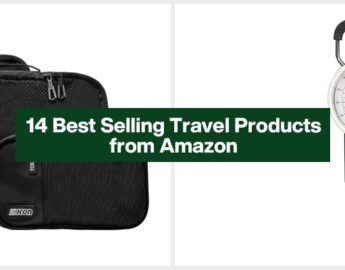 14 Best Selling Travel Products from Amazon